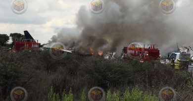 Se desploma avión de Aeroméxico con más de 80 pasajeros en Durango